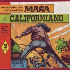 Tebeos: MAGA - EL CALIFORNIANO Nº8. Lote 44101123