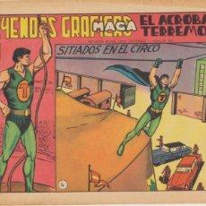 Giornalini: EL ACRÓBATA TERREMOTO Nº 4. SIN ABRIR. Lote 44178076