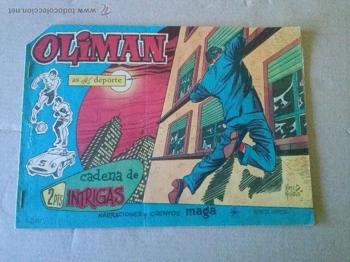 OLIMAN AS DEL DEPORTE Nº 41 - MAGA (Tebeos y Comics - Maga - Oliman)