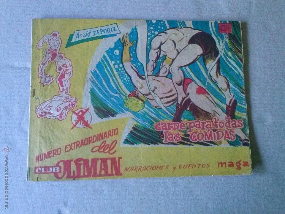 OLIMAN EXTRAORDINARIO Nº 4 - MAGA (Tebeos y Comics - Maga - Oliman)