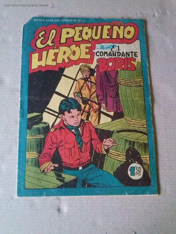 EL PEQUEÑO HEROE Nº 82- MAGA (Tebeos y Comics - Maga - Otros)