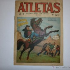 Tebeos: ATLETAS-MAGA-Nº12 ORIGINAL- AGENTE FEDERAL. Lote 44267504