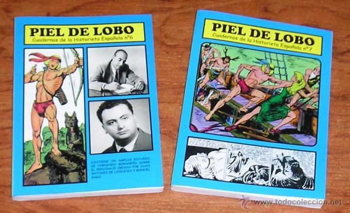 CUADERNOS DE LA HISTORIETA ESPAÑOLA FERNANDO BERNABÓN PIEL DE LOBO COMPLETA 2 Nº (Tebeos y Comics - Maga - Piel de Lobo)