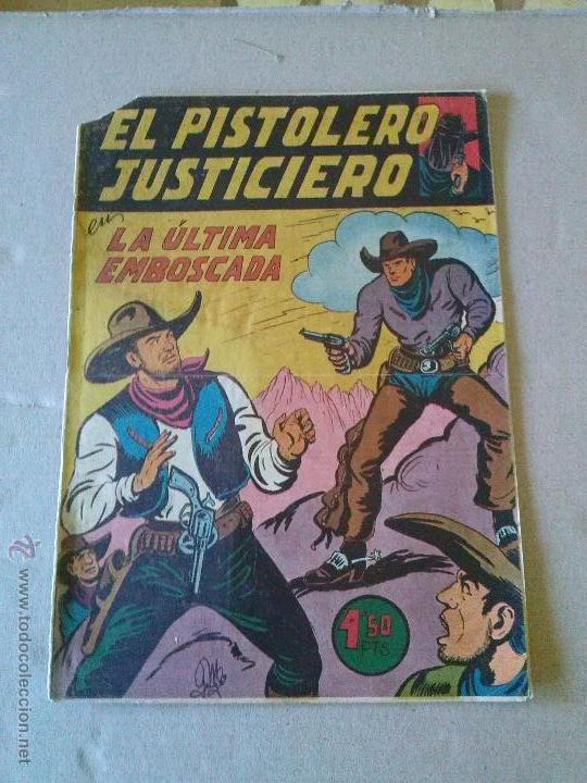 EL PISTOLERO JUSTICIERO Nº 11 - MAGA- COL DE 12 (Tebeos y Comics - Maga - Otros)