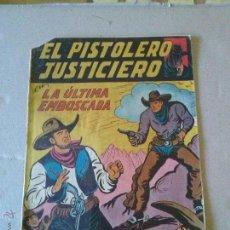 Livros de Banda Desenhada: EL PISTOLERO JUSTICIERO Nº 11 - MAGA- COL DE 12. Lote 44364022
