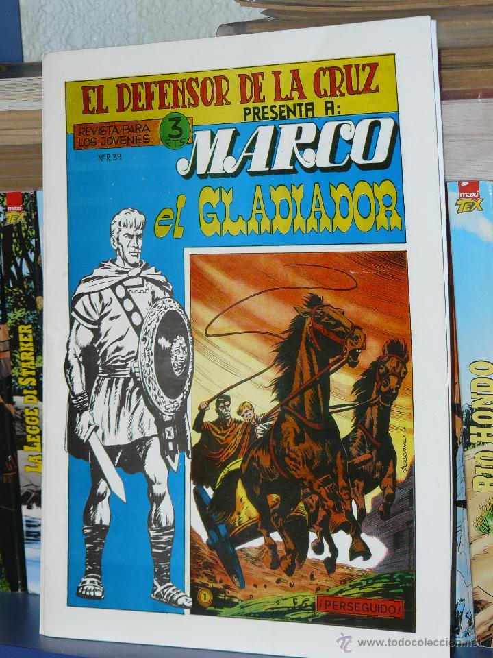 TEBEOS-COMICS GOYO - MARCO EL GLADIADOR - DON LAWRENCE - COMPLETA *AA99 (Tebeos y Comics - Maga - Otros)