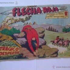 Tebeos: LOTE - FLECHA ROJA - MAGA -ORIGINALES -DEL 25 AL 44 - LEIDOS I GUARDADOS. Lote 44419237