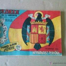 Tebeos: COLECCION COMPLETA DE OLIMAN -105 NºS -SUELTA - CON ALBUM DE CROMOS -DIFICIL. Lote 44479853