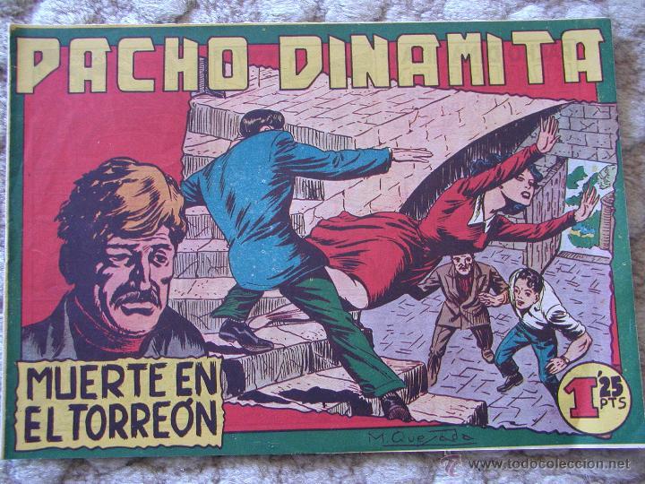 PACHO DINAMITA. MUERTE EN EL TORREÓN. EDITORIAL MAGA (Tebeos y Comics - Maga - Pacho Dinamita)