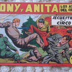Tebeos: TONY Y ANITA. SECUESTRO EN EL CIRCO. EDITORIAL MAGA. Lote 44717405