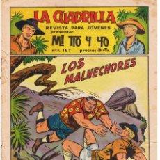 Tebeos: LA CUADRILLA PRESENTA: MI TIO Y YO. Nº 10. LOS MALHECHORES. EDITORIAL MAGA. (RF.MA).C/12. Lote 44802887