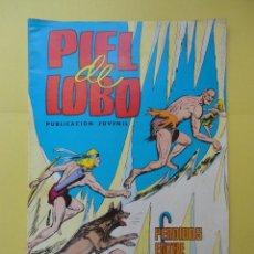 BDs: PIEL DE LOBO. Nº 12. Lote 45096381