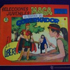 Tebeos: EL LIBERTADOR. Nº5. AÑO 1965. ORIGINAL. DIBUJANTE SEGRELLES. EDITORIAL MAGA. Lote 45665793