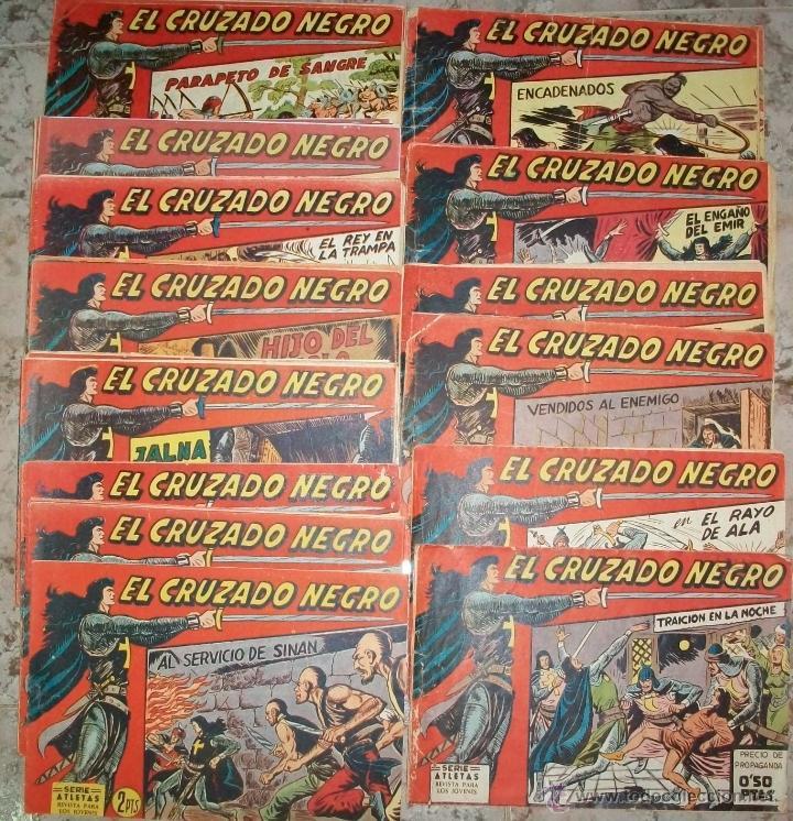 EL CRUZADO NEGRO (MAGA) 56 EJ (COMPLETA) (Tebeos y Comics - Maga - Otros)