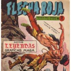 Giornalini: FLECHA ROJA. Nº 23. CONTIENE EL SUPLEMENTO DE SAHIB TIGRE. SERIE LEYENDAS GRAFICA MAGA(C/A3). Lote 45966832