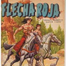 Livros de Banda Desenhada: FLECHA ROJA. Nº 21. CONTIENE EL SUPLEMENTO DE SAHIB TIGRE. SERIE LEYENDAS GRAFICA MAGA(C/A3). Lote 45966864
