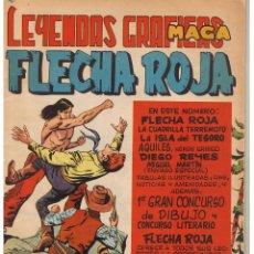 BDs: FLECHA ROJA. Nº 26. MAGA (C/A3). Lote 45968438