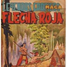 BDs: FLECHA ROJA. Nº 28. MAGA (C/A3). Lote 45968492