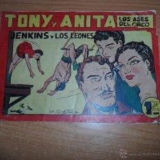 Giornalini: TONY Y ANITA Nº 62 EDITORIAL MAGA ORIGINAL . Lote 46034631