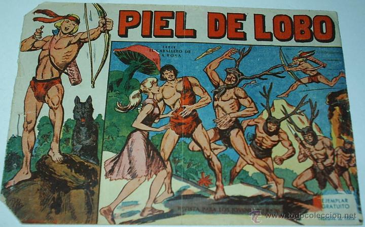 PIEL DE LOBO Nº 1 -- ORIGINAL MAGA 1959- LEER TODO (Tebeos y Comics - Maga - Piel de Lobo)