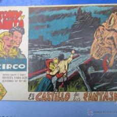 Tebeos: TONY Y ANITA , LOS ASES DEL CIRCO , N.4 ORIGINAL , MAGA 1960. Lote 46107904