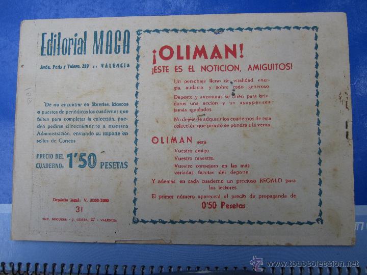 Tebeos: TONY Y ANITA , los ases del circo , n .31 original , maga 1960 - Foto 2 - 46107992