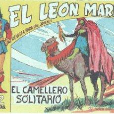 Giornalini: EL LEON MARINO ORIGINAL Nº 15 COMO NUEVO, EDI. MAGA 1961 - DIBUJOS GIGARPE - GINES GARCÍA PEREZ. Lote 46132039
