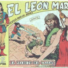 Giornalini: EL LEON MARINO ORIGINAL Nº 21 COMO NUEVO,SIN ABRIR NI CIRCULAR - EDI. MAGA 1961 - DIBUJOS GIGARPE. Lote 46132071