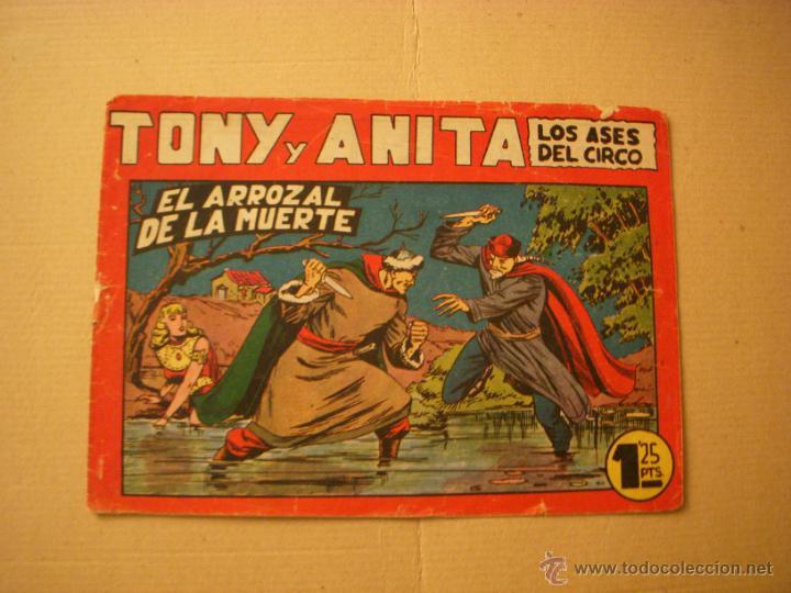 TONY Y ANITA Nº 71, DE 1,25, EDITORIAL MAGA (Tebeos y Comics - Maga - Tony y Anita)