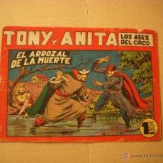 Tebeos: TONY Y ANITA Nº 71, DE 1,25, EDITORIAL MAGA. Lote 46317777