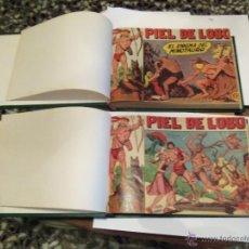 Tebeos: PIEL DE LOBO--COLECCION ORIGINAL COMPLETA--. Lote 46372566