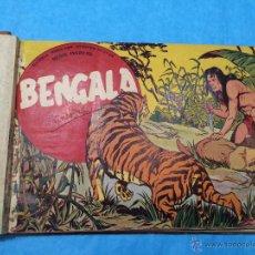 Tebeos: BENGALA - MAGA - AÑO 1959 - TOMO ENCUADERNADO CON LOS Nº 1 AL 20. Lote 46499202