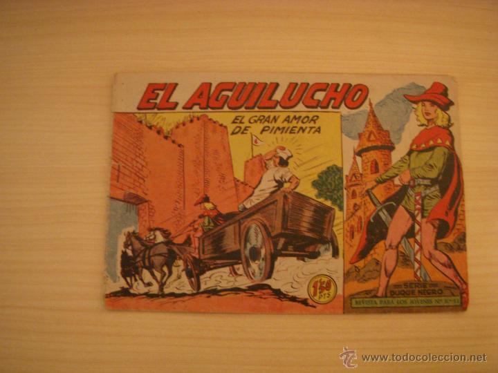 EL AGUILUCHO Nº 36, EDITORIAL MAGA (Tebeos y Comics - Maga - Otros)
