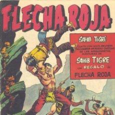Tebeos: FLECHA ROJA Nº12 (NO CONSERVA EL SUPLEMENTO HORIZONTAL Y EL CUPÓN DE LA CONTRAPORTADA). Lote 46992791