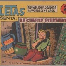 Tebeos: AFRICA SERIE ATLETAS Nº 37 EDITORIAL MAGA 1964 ORIGINAL - DIBUJOS L-CATALÁ. Lote 47049151