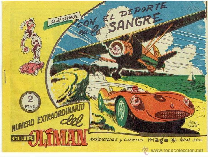 AS DEL DE PORTE, CON EL DEPORTE EN LA SANGRE (Tebeos y Comics - Maga - Oliman)