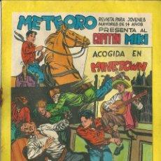 Tebeos: ORIGINAL- METEORO-CAPITAN MIKI-Nº55 -AÑO1964-ACOGIDA EN MINETOWN. Lote 47110319