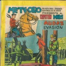Tebeos: ORIGINAL- METEORO-CAPITAN MIKI-Nº52 -AÑO 1964-AUDAZ EVASION. Lote 47110626