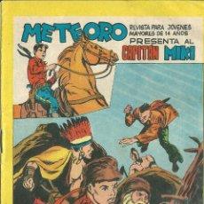 Tebeos: ORIGINAL- METEORO-CAPITAN MIKI-Nº71 -AÑO 1964-LA BOCA DEL GUERRERO. Lote 47110663