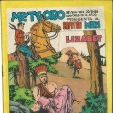 Tebeos: ORIGINAL- METEORO-CAPITAN MIKI-Nº70 -AÑO 1964-LIZABET. Lote 47110706