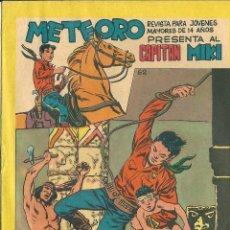 Tebeos: ORIGINAL- METEORO-CAPITAN MIKI-Nº62 -AÑO1964- RESCATE AUDAZ. Lote 47111250