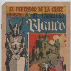 Livros de Banda Desenhada: EL DEFENSOR DE LA CRUZ Nº1 EL CABALLERO BLANCO.. Lote 47277279