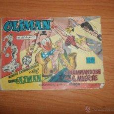 Tebeos: OLIMAN Nº 20 EXTRAORDINARIO EDITORIAL MAGA ORIGINAL DIFICIL. Lote 47385904