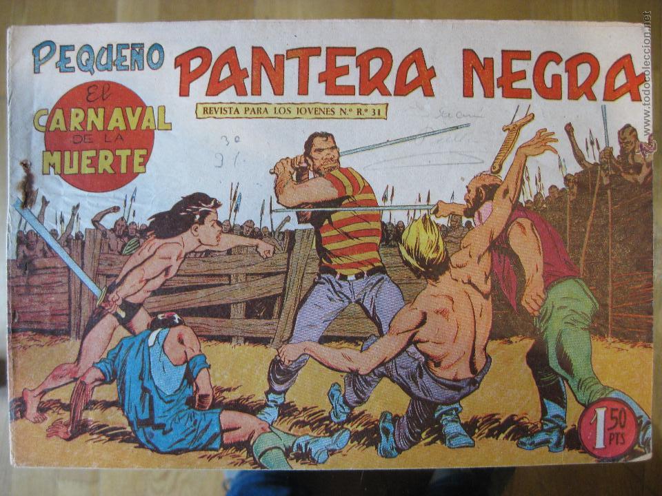 PEQUEÑO PANTERA NEGRA MAGA 1958 - Nº140 (Tebeos y Comics - Maga - Pantera Negra)