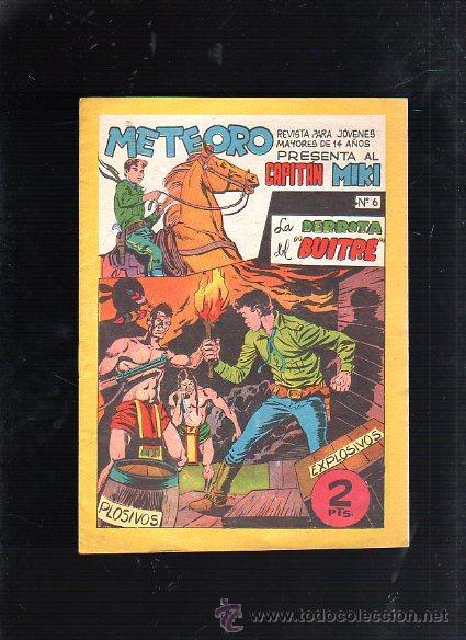 REVISTA PARA MAYORES METEORO. CAPITAN MIKI. Nº 6. LA DERROTA DEL BUITRE. EDITORIAL MAGA (Tebeos y Comics - Maga - Otros)