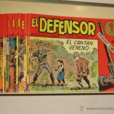 Tebeos: EL DEFENSOR COMPLETA 26 NUMEROS EDITORIAL MAGA REEDICION OFERTA (ANTES 60,00 €) - JC. Lote 137433269