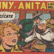 Tebeos: TONY Y ANITA Nº 8. MAGA 1951.. Lote 47930447