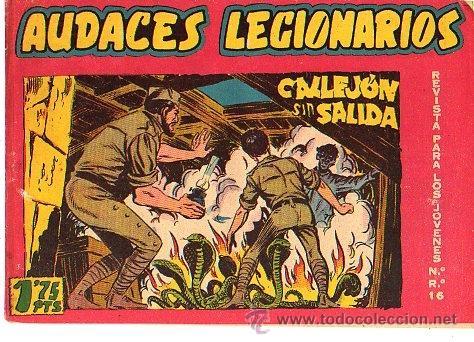 AUDACES LEGIONARIOS (MAGA) Nº 26 (Tebeos y Comics - Maga - Otros)