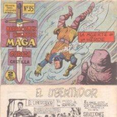 Tebeos: CORAZA DE CASTILLA Nº 35 ORIGINAL EDITORIAL MAGA 1964 - NUEVO SIN CIRCULAR. Lote 48007140