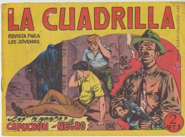 LA CUADRILLA Nº 4. (JUAN BRAVO) MAGA 1964. (Tebeos y Comics - Maga - Otros)